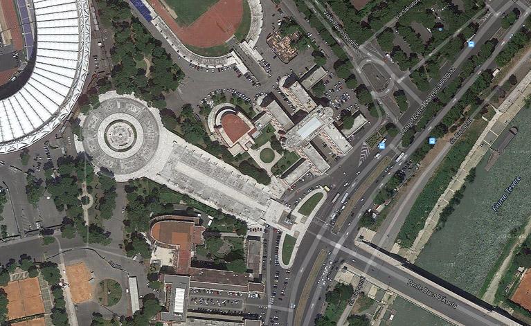 area del Foro Italico